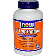 NOW L-Typrophan 500mg Veg Capsules