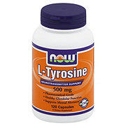 NOW L-Tyrosine 500 mg Capsules