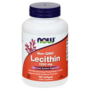 NOW Lecithin 1200 mg Softgels