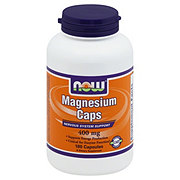 NOW Magnesium Caps 400 mg Capsules