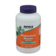NOW Magnesium Malate 1000 mg Tablets