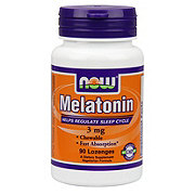 NOW Melatonin 3 mg Capsules