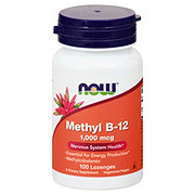 NOW Methyl B-12 1000 mcg Lozenges