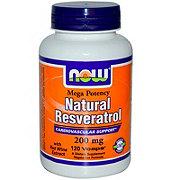 NOW Natural Resveratrol 200 mg Vcaps
