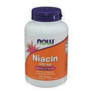 NOW Niacin 500 mg Capsules
