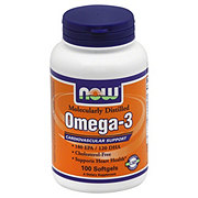 NOW Omega-3 180 EPA/120 DHA Fish Oil Softgels