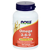 NOW Omega-3-6-9 1000 mg Softgels