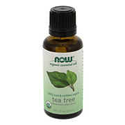 NOW Organic Essential Oils 100% Pure Tea Tree Oil