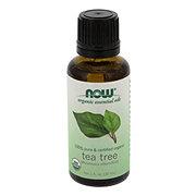 NOW Organic Essential Oils 100% Pure Tea Tree Oil