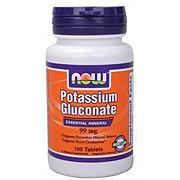 NOW Potassium Gluconate 99 mg Capsules