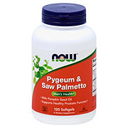 NOW Pygeum & Saw Palmetto Softgels