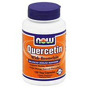NOW Quercetin with Bromelain Veg Capsules
