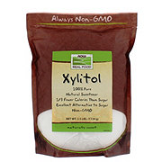 NOW Real Food Xylitol 100% Pure Natural Sweetener