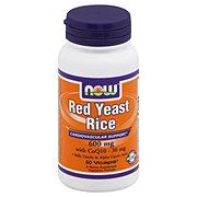 NOW Red Yeast Rice 600 mg with CoQ10 30 mg Vcaps