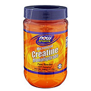 NOW Sports Micronized Creatine Mononhydrate Powder