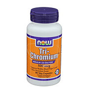NOW Tri-Chromium 500 mcg Veg Capsules