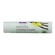 NOW Vanilla Completely Kissable Organic Lip Balm