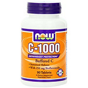 NOW Vitamin C-1000 mg Complex Capsules