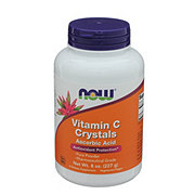 NOW Vitamin C Crystals Ascorbic Acid  Powder