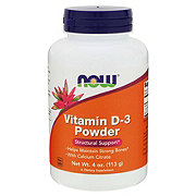 NOW Vitamin D-3 Powder