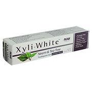 NOW Xyliwhite Neem & Tea Tree Toothpaste Gel