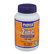 NOW Zinc 50 mg Tablets