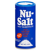 Nu-Salt Salt Substitute