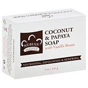 Nubian Heritage Coconut & Papaya Bar Soap with Vanilla Beans