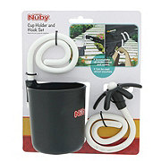 Nuby Cup Holder And Hook Set