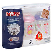 Nuby Natural Touch 9 oz Bottles