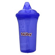 Nuby No-Spill Hard Top Cup 9 OZ, Assorted Colors