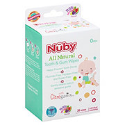 Nuby Tooth And Gum Wipes