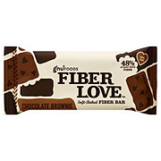 NuGo Fiber Love Fiber Bar, Chocolate Brownie