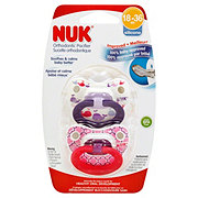 NUK Fashion Orthodontic Pacifier, Marrakesh & Whales, 18-36 Months