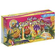 Nukids Organic Fruit Punch Juice Drink 6 oz