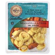 Nuovo Pasta Tri-Color Mozzarella & Herb Tortelloni