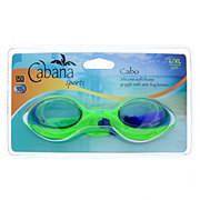 Nuquest Cabana Sports Large/X-Large Cabo Silicone Soft Frame Goggle with Anti-Fog Goggles