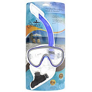 Nuquest Cabana Sports Paradise Recreational Adult Mask & Snorkel, Assorted Colors