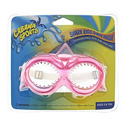 Nuquest Cabana Sports Shark Kids Dive Mask, Assorted Colors