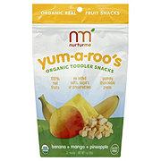 NurturMe Yum-a-roos Banana Mango Pineapple
