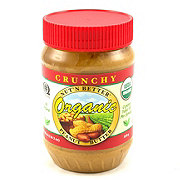 Nut' N Better Organic Crunchy Peanut Butter
