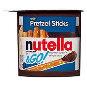 Nutella & Go! Hazelnut Spread & Pretzel Sticks