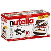 Nutella Hazelnut Spread Mini Cups