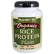 Nutribiotic Rice Protein Plain
