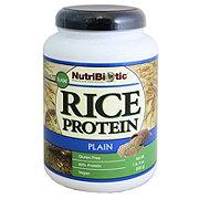 Nutribiotic Rice Protein Plain Flavor