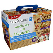 Nutrisystem 7 Day Weight Loss Kit For Diabetics
