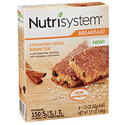 Nutrisystem Breakfast Bar Cinnamon Raisin