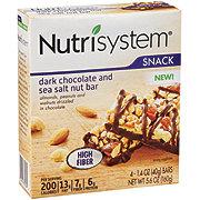 Nutrisystem Dark Chocolate Sea Salt Bar