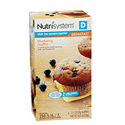 Nutrisystem Diabetic Breakfast Blueberry Muffin