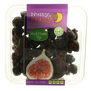 Nutty And Fruity Black Mission Figs